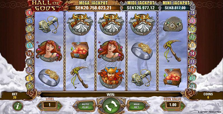 hall of gods review screenshot