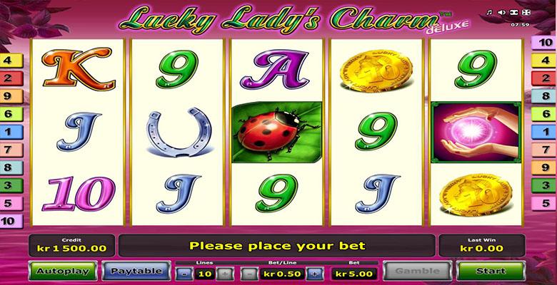 lucky ladys charm deluxe casino bonus