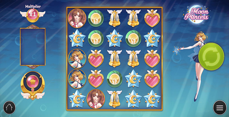 moon princess casino bonus screenshot