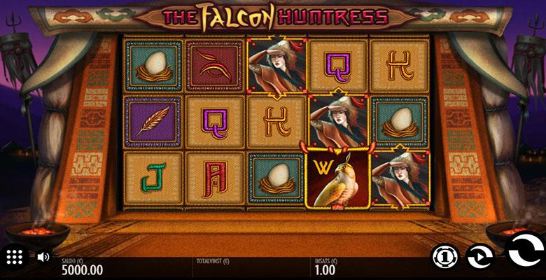 falcon huntress slot