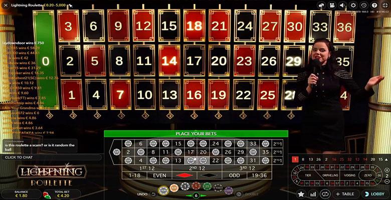 lightning roulette bonus