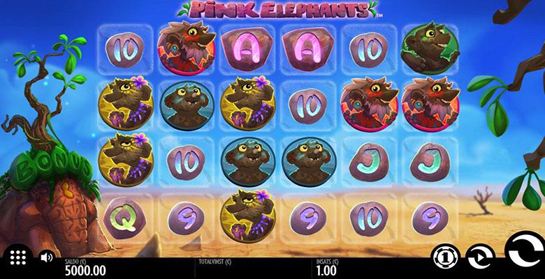 pink elephants slot screenshot