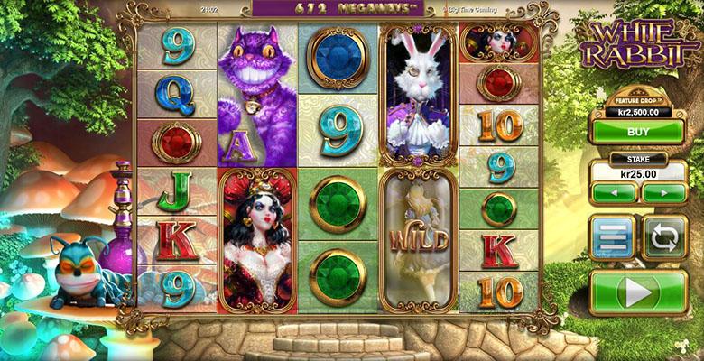 white rabbit slot rezension